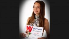 Veronika Koubová, 2.A  – 1. místo v regionálním kole soutěže Poznávání rostlin