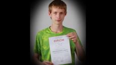 Vojtěch John, 5.A – 3. místo v krajském kole Matematické olympiády