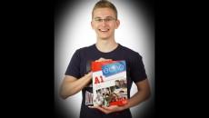 Dominik Paukert, 5.A – 4. až 5. místo v krajském kole Olympiády ve francouzském jazyce