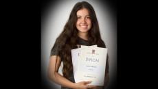 Silvie Smolová, 3.C – 2. místo v krajském kole Olympiády ve španělském jazyce