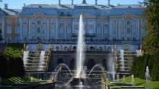 Petrodvorec, carská rezidence na pobřeží Finského zálivu