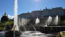 Fontány v Petrodvorci