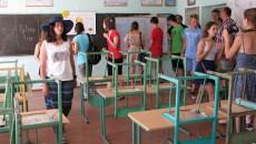 Koločava – třída v místní škole