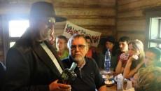 Skanzen v Koločavě - pohoštění u žida