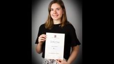Lucie Wargová, 5.A, 1. místo v krajském kole soutěže ve španělském jazyce