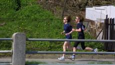 Triatlon - závod dvojic - běh