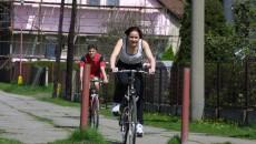 Triatlon - závod dvojic - kola