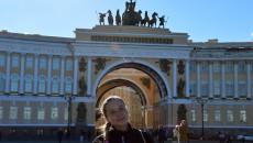 Vítězný oblouk na Palácovém náměstí