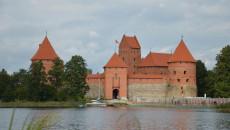Vodní hrad Trakai v Litvě