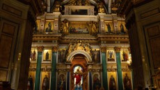 Interiér chrámu sv. Izáka
