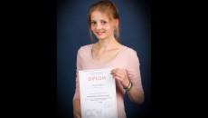 Kristýna Vejdová, 7.A – 2. místo v krajském kole SOČ