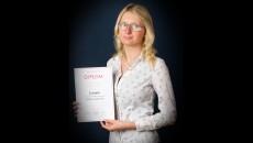 Eliška Mauerová, 4.C – 2. místo v krajském kole Soutěže v ruském jazyce