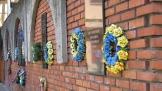 Mukačevo – pomník obětem nacistického a stalinského teroru