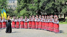 Slavnostní akt v Užhorodě u příležitosti Dne ústavy Ukrajiny