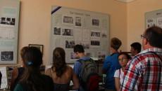Chust – škola, kde byla v březnu 1939 vyhlášena nezávislost Karpatské Ukrajiny a kde byl zvolen prezidentem Augustin Vološin