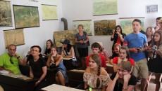 Koločava – učebna v muzeu Česká škola