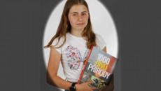 Terezie Sabatová  1.A účast v krajském kole Biologické olympiády